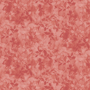 MARCUS FABRICS SHADINGS TEXTURED FOLIAGE RED  R21 0886 0111