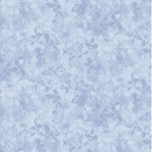 MARCUS FABRICS SHADINGS TEXTURED FOLIAGE LIGHT BLUE  R21 0886 0122