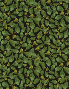 Leaves Cotton Sewing Fabric