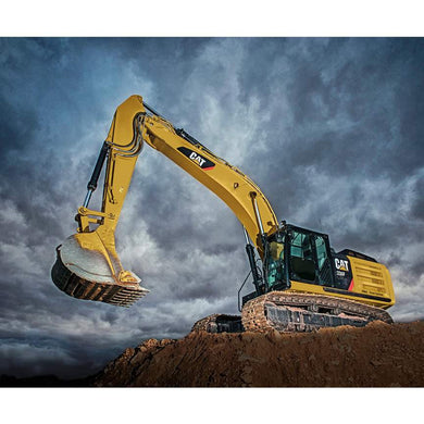 Riley Blake - CAT® Excavator Panel  P9106