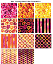 Load image into Gallery viewer, Benartex - Sun Burst Pink 10x10 Pack