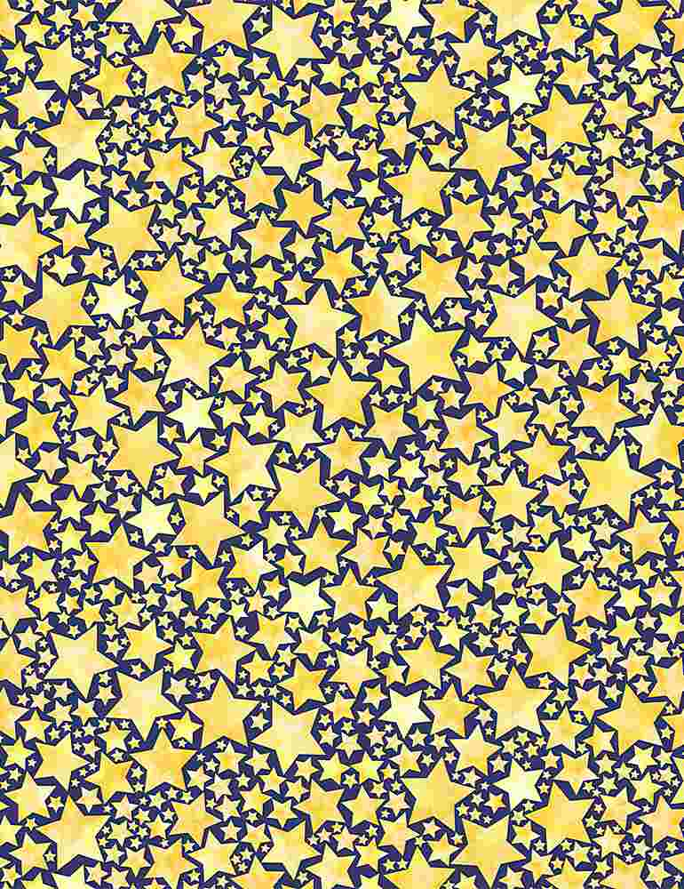 I Love You To The Moon and Back Yellow Packed Stars  C8350-YELLOW