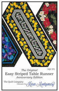Easy Striped Table Runner # TQC272
