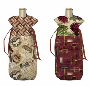 "Wine Cooler Bags - On the ""Cutting Table"" Video"
