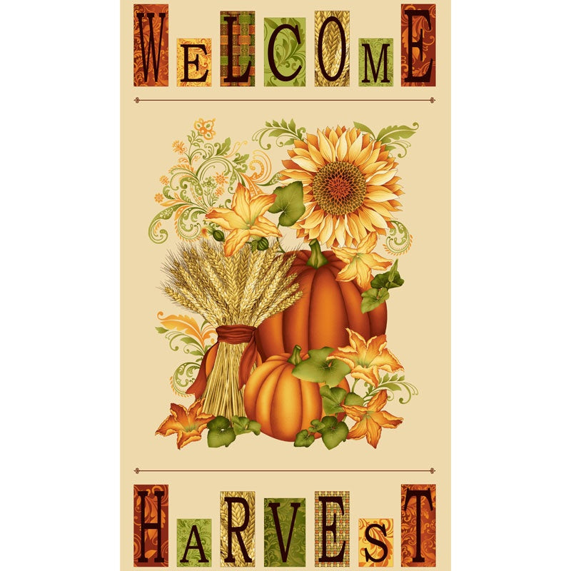 Welcome Harvest - Panel