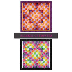 Blanket of Flowers Quilt Pattern