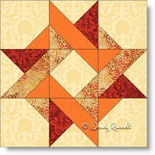 Block 13 Entwined Star  -  Scroll down Free Download