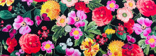 Load image into Gallery viewer, All Over Flower Arrangement | Nature-C6706-Black