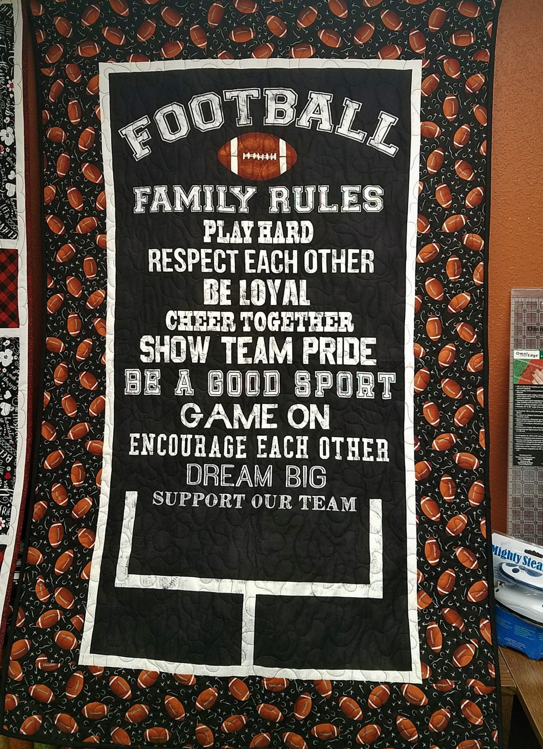 Football Family Rules Kit