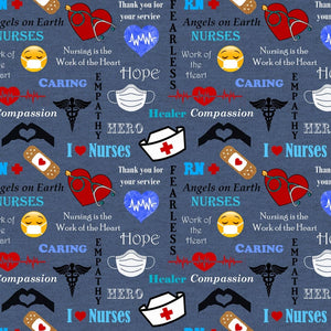 Denim Nurses Hope and Hero Collection From Sykel  10321