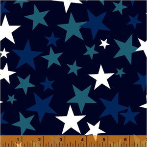 Windham Navy Stars 108in Wide Back # 52477-3