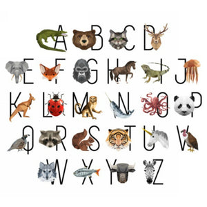 Hoffman Digital Zookeeper Animal Alphabet