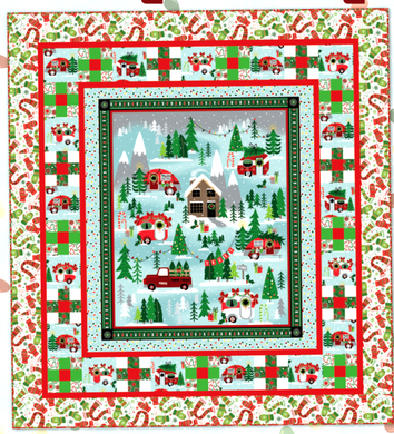 Camp Joy Kit -Visiting the Village Pattern