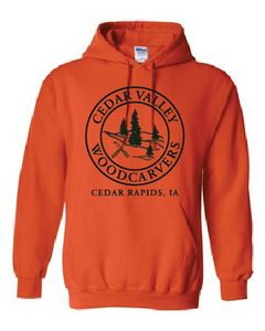Cedar Valley Woodcarvers Hooded Sweatshirt