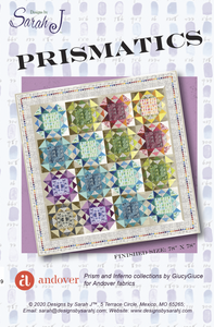 Prismatics Quilt Pattern by Designs by Sarah J.