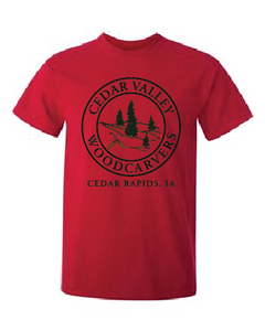 Cedar Valley Woodcarvers 50/50 T-shirt