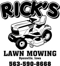 Load image into Gallery viewer, Rick's Lawn Mowing Long Sleeve T