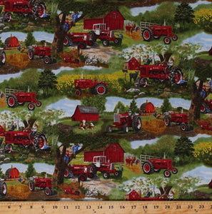Case IH - Tractors, Children, Animals, Scenic