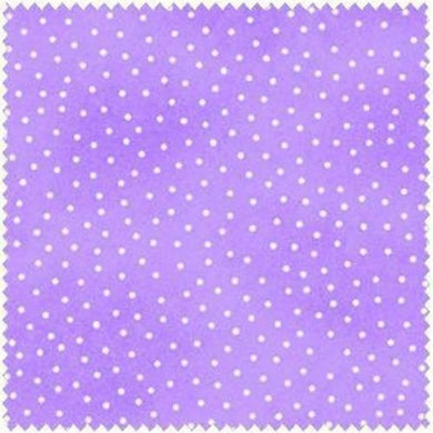 Comfy Flannel Lavender w/ Dots Fabric 9527-55 BTY- A.E. Nathan