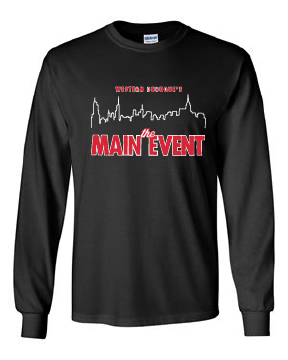 WD Main Event 100% Cotton Black Long Sleeve T