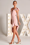 CYRELL DRESS IN BLUSH