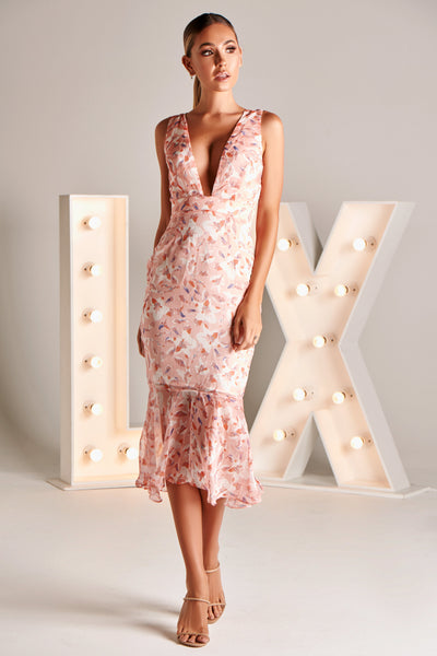 GEORGIE DRESS IN FLORAL PRINT