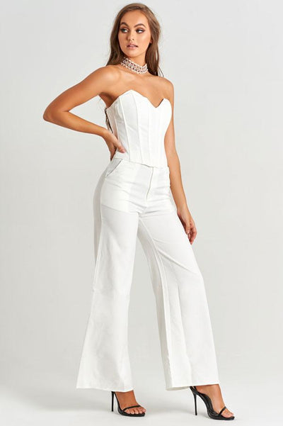 Amal Pants in White