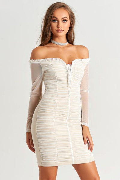 Miroula Dress in White