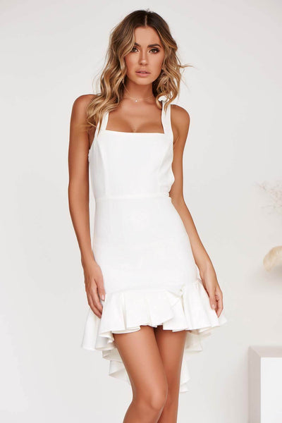 ANDREA DRESS IN WHITE