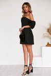 Shay Dress in BLACK