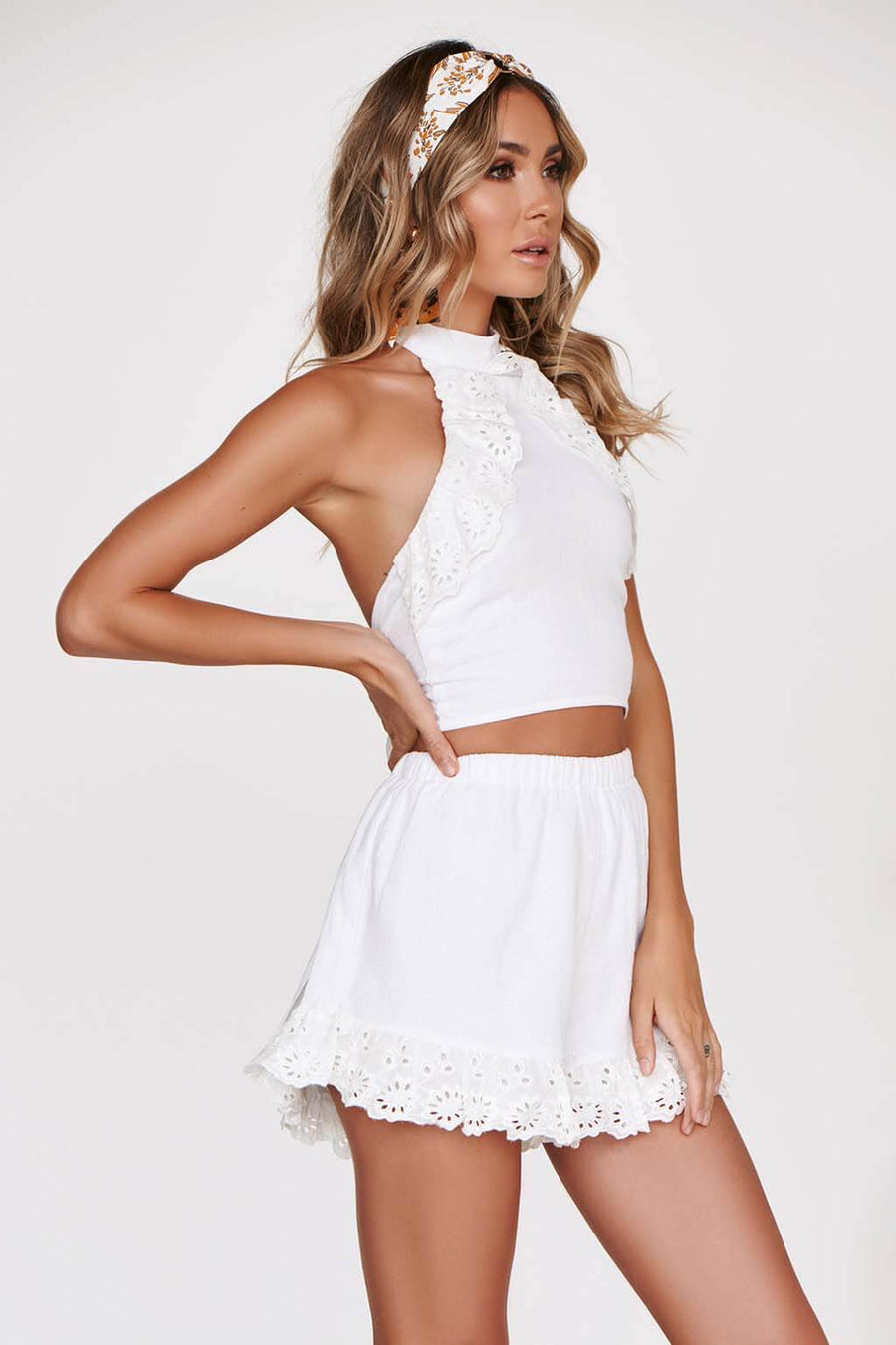 FIRST LOVE TOP in WHITE