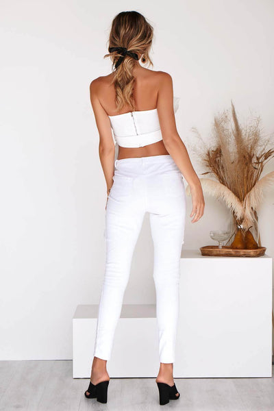LEXIE TOP IN WHITE