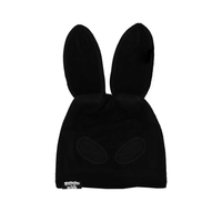 HALF BLACK BUNNY MASK