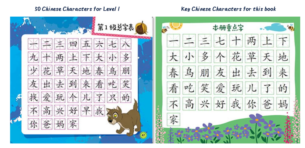Disney I can read level 1 Chinese characters