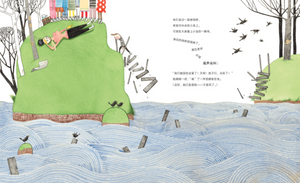 乔伊想当建筑师 Iggy Peck Architect Chinese Children's book 9787513318198 Andrea Beaty & David Roberts