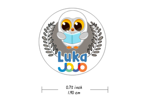 """Luka Approved"" Stickers-One Sheet"