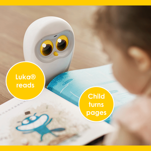 Luka Book Reading Robot Companion
