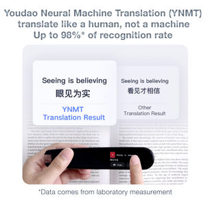 Youdao Dictionary Pen II: Read Aloud & Translate Chinese to English