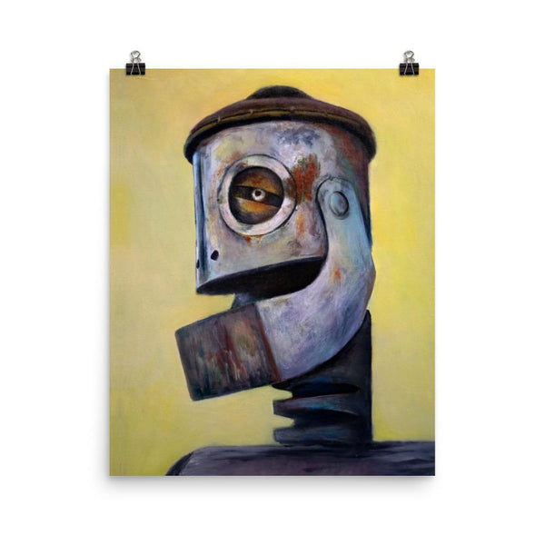 Rob Tillberg Studio & Gallery 16×20 Tin Head Premium Print