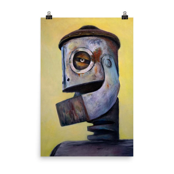 Rob Tillberg Studio & Gallery 24×36 Tin Head Premium Print