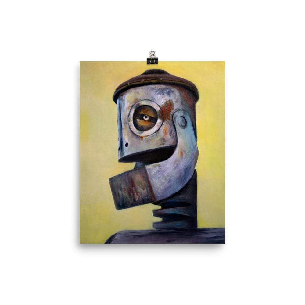 Rob Tillberg Studio & Gallery 8×10 Tin Head Premium Print