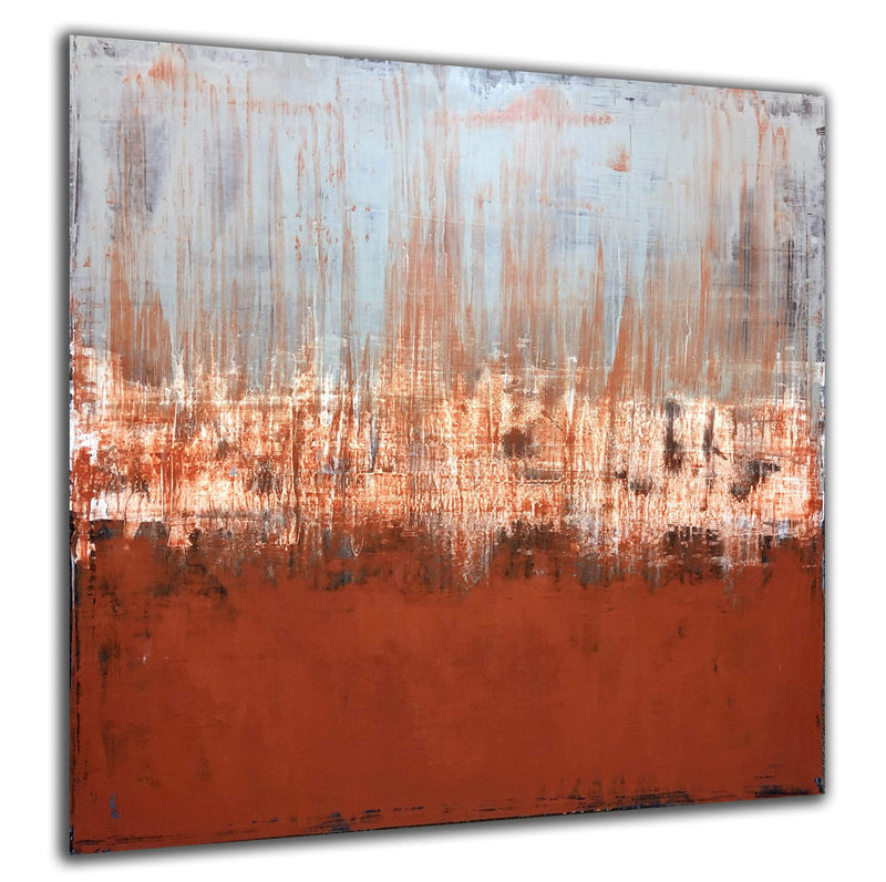 "Breaking Terra Cotta | 48""x48"""