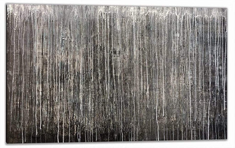 "Robert Tillberg Cold Winter Night | 46""x28"""
