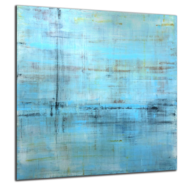 "Robert Tillberg Feeling Pale Blue | 48""x48"""