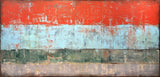 "Many Hard Years | 96""x48"""