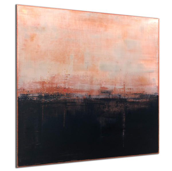 "Robert Tillberg Pink Skies At Night | 48""x48"""