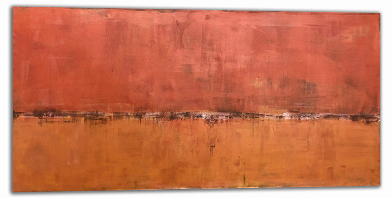 "Red Earthed | 84""x42"""
