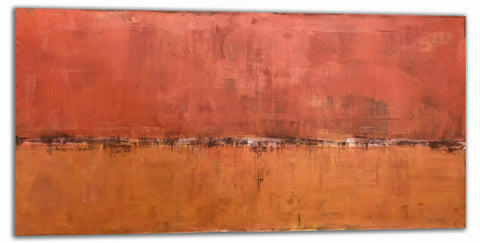 "Robert Tillberg Red Earthed | 84""x42"""