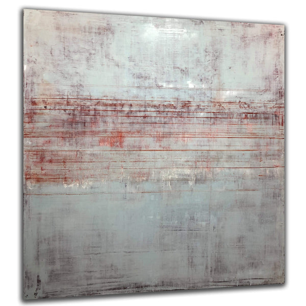 "Red Lined | 48""x48"""