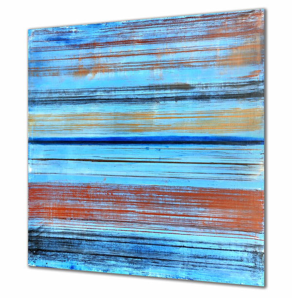"Robert Tillberg Retro Striped | 48""x48"""